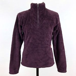 North Face Purple Mossbud 1/4 Quarter Zip Pullover